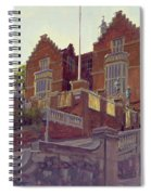 The Old Schools, Harrow Oil On Canvas Spiral Notebook
