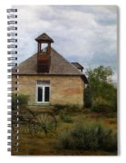 The Old Shell Schoolhouse Spiral Notebook