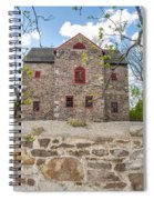 The Old Sone Barn At The Highlands Spiral Notebook