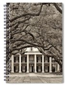 The Old South Sepia Spiral Notebook