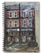 The Old Store Spiral Notebook