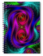 The Old Stuffed Chair - Fractal Spiral Notebook