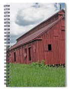 The Old Abandon Tobacco Barn Spiral Notebook