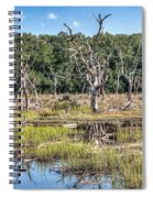 The Old Tree Graveyard Spiral Notebook