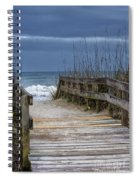 The Old Walkway Spiral Notebook