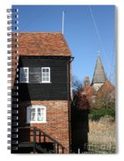 The Old Water Mill Bosham Spiral Notebook