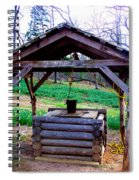 The Old Water Well Spiral Notebook