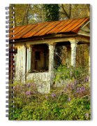 The Old Well House Spiral Notebook