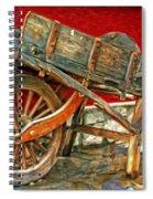 The Old Wheelbarrow Spiral Notebook