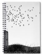 The Old Windmill  Spiral Notebook