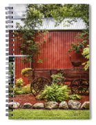 The Old Wood Cart Spiral Notebook