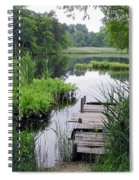The Ole Fishing Hole Spiral Notebook