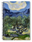 The Olive Tree Spiral Notebook