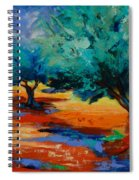 The Olive Trees Dance Spiral Notebook