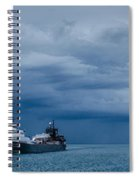 The Oncoming Storm Spiral Notebook