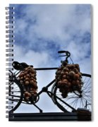 The Onion Bicycle Spiral Notebook