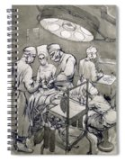 The Operation Theatre, 1966 Spiral Notebook