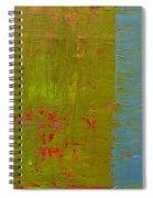 The Orange Wedge Spiral Notebook