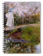 The Orchard Brook  Spiral Notebook