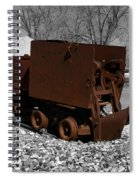 The Ore Tender Spiral Notebook
