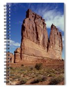 The Organ, Arches National Park, Utah Spiral Notebook