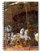 The Original French Carousel Spiral Notebook