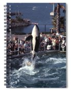 The Original Shamu Orca Sea World San Diego 1967 Spiral Notebook