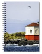 The Other Side Of The Coquille River Spiral Notebook