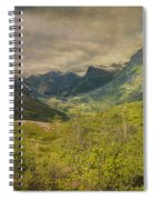 The Other Side Of Trollstigen Norway Spiral Notebook