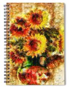The Other Sunflowers Spiral Notebook