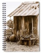 The Outhouse Spiral Notebook
