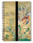 The Outskirts Of Kyoto Throughout The Season Spiral Notebook