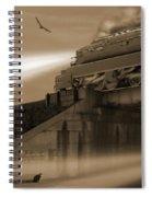 The Overpass 2 Spiral Notebook