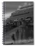 The Overpass 2 Panoramic Spiral Notebook