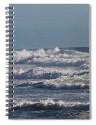 The Pacific Ocean Near Oceanside Ca Spiral Notebook