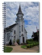 The Painted Churches Spiral Notebook