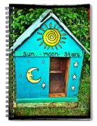 The Painted Dog House Spiral Notebook