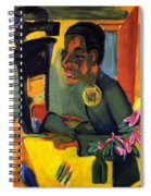 The Painter - Self Portrait Spiral Notebook