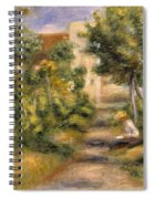 The Painters Garden, Cagnes, C.1908 Spiral Notebook