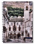 The Palace And The Tower Spiral Notebook