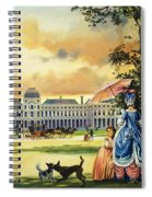 The Palace Of The Tuileries Spiral Notebook