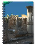 The Palaestra -temple Of Apollo Spiral Notebook