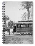 The Palm Beach Trolley Spiral Notebook