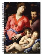 The Panciatichi Holy Family Spiral Notebook