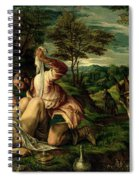 The Parable Of The Good Samaritan Spiral Notebook