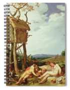 The Parable Of The Wheat And The Tares Spiral Notebook
