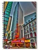 The Paramount Center And Opera House In Boston Spiral Notebook