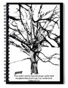 The Park Bench With Scripture Spiral Notebook