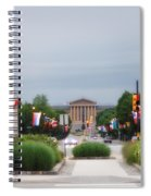 The Parkway And Art Museum Spiral Notebook