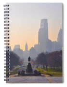 The Parkway In The Morning Spiral Notebook